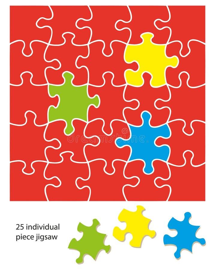 часть 25 зигзагов иллюстрация вектора