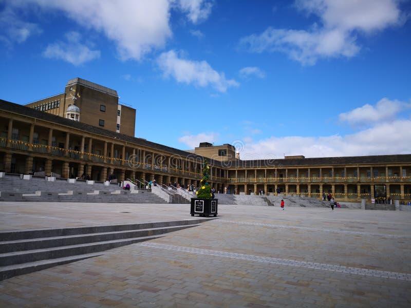 Часть Hall Halifax Западное Йоркшир стоковая фотография rf