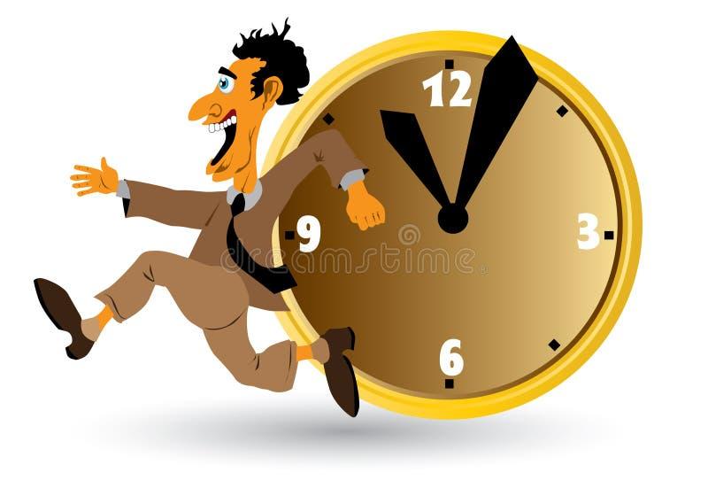 часы бизнесмена бесплатная иллюстрация
