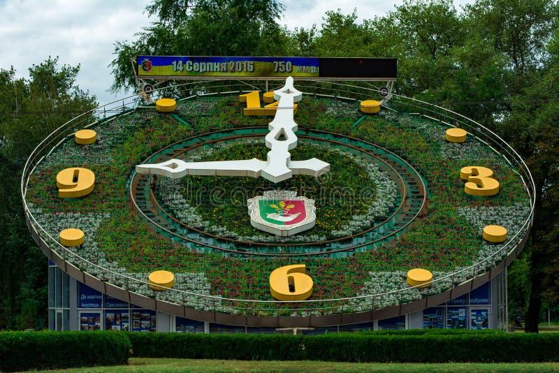 часы большие стоковое изображение rf