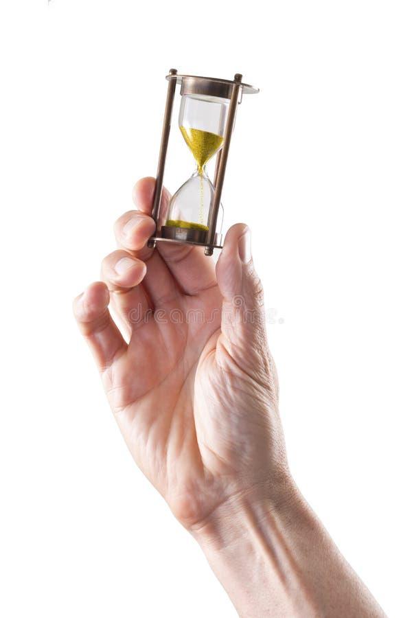 Часы времени руки стоковое фото