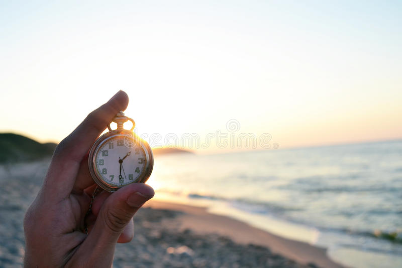 Часы времени стоковая фотография rf