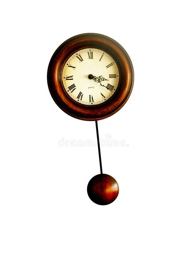 часы деревянные стоковые фото