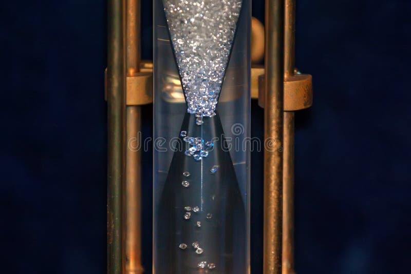 Часы диаманта, который подвергли действию в музей De Пива стоковое фото rf