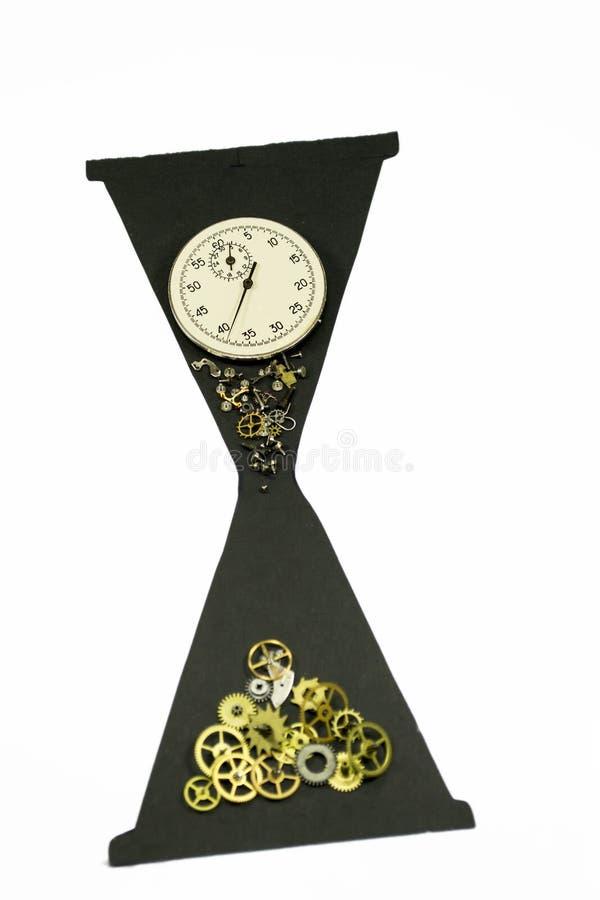 Часы и время стоковое изображение rf