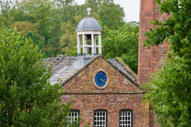 Часы и купол стоковая фотография