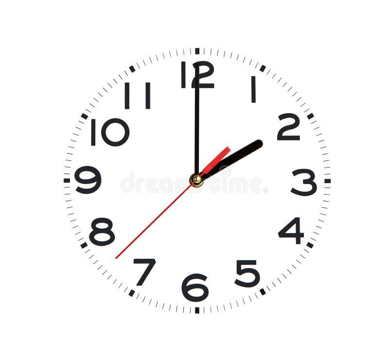 часы как раз стоковая фотография rf