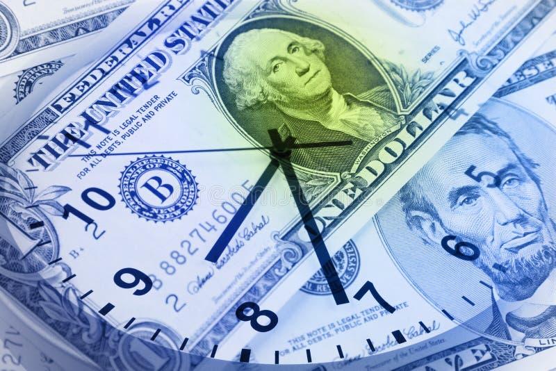 часы кредиток стоковая фотография