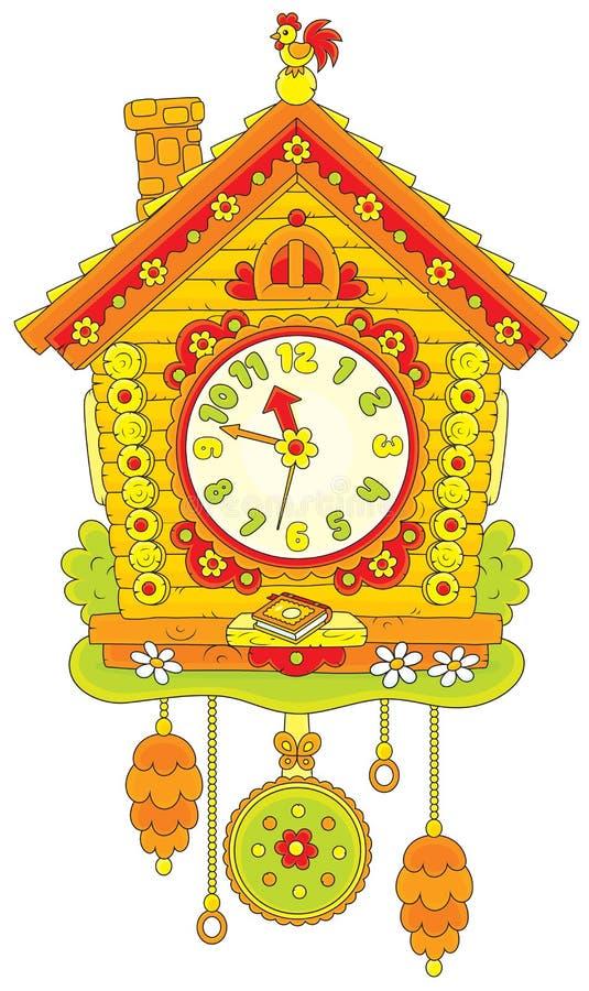 Часы кукушки бесплатная иллюстрация