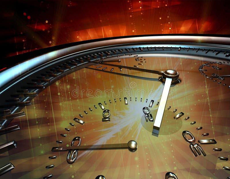 часы механически иллюстрация штока