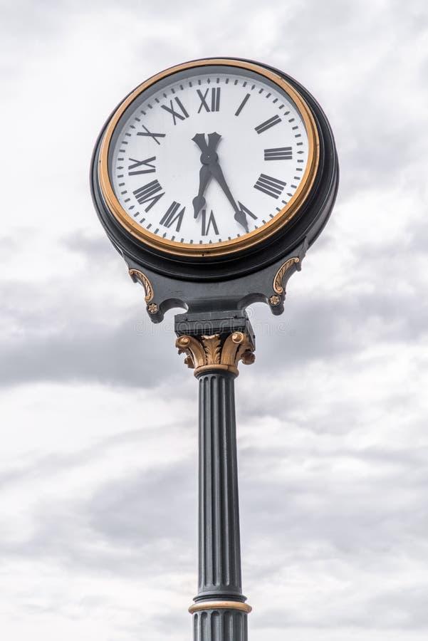 Часы на станции Kansas City Миссури соединения стоковое изображение