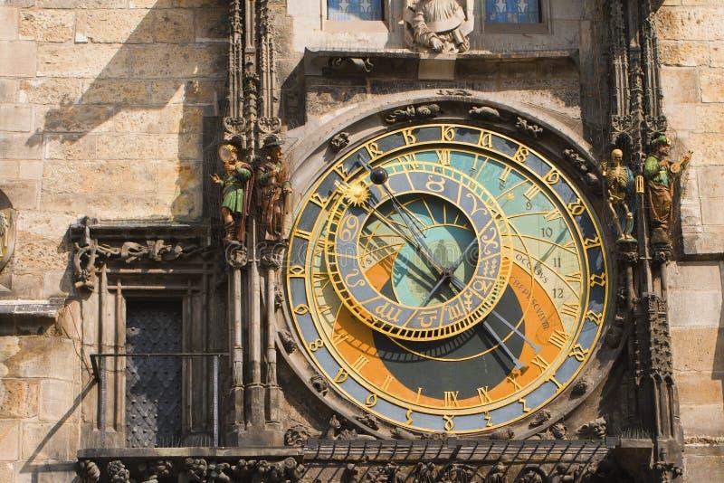 Часы Прага стоковые фотографии rf