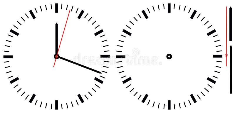 часы просто иллюстрация штока