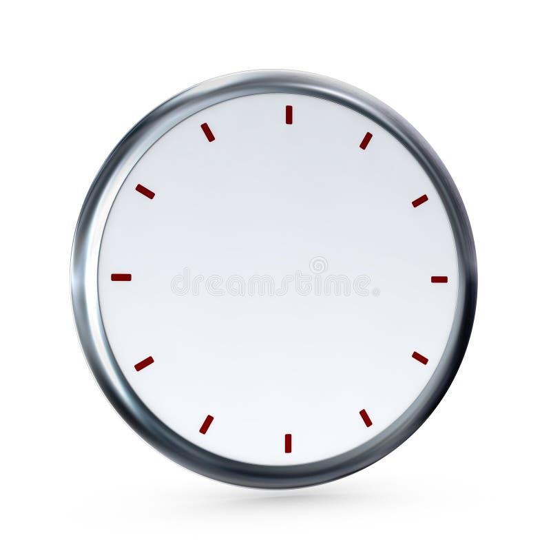 часы пустые иллюстрация штока