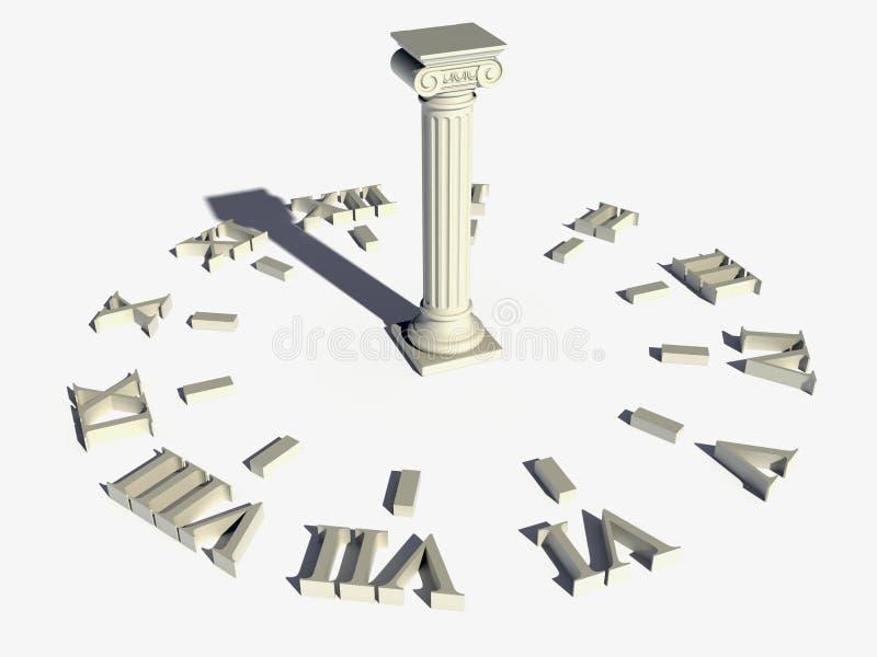 Часы Солнця стоковое изображение