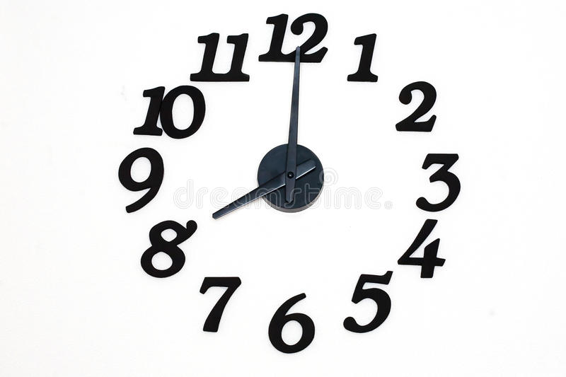 Часы стены стоковое фото
