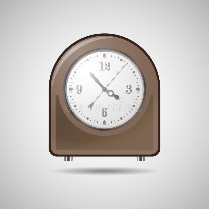 Часы стола стоковая фотография