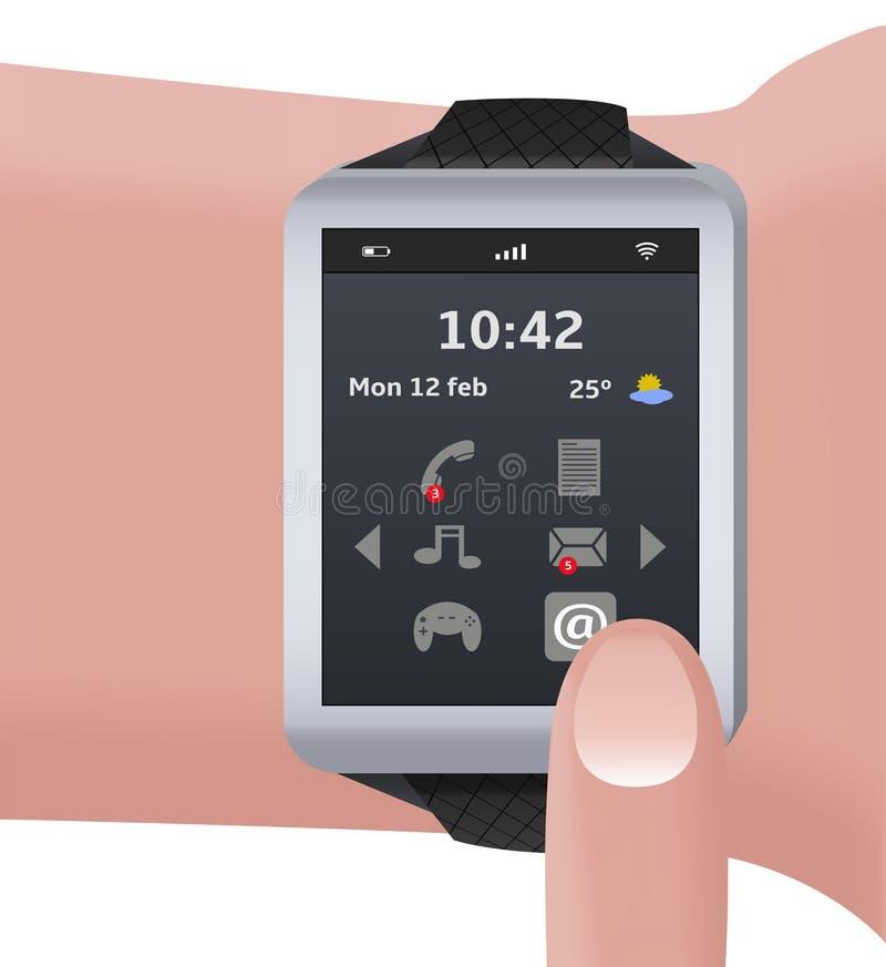 Download часы франтовские иллюстрация штока. иллюстрации насчитывающей сообщение - 40587117