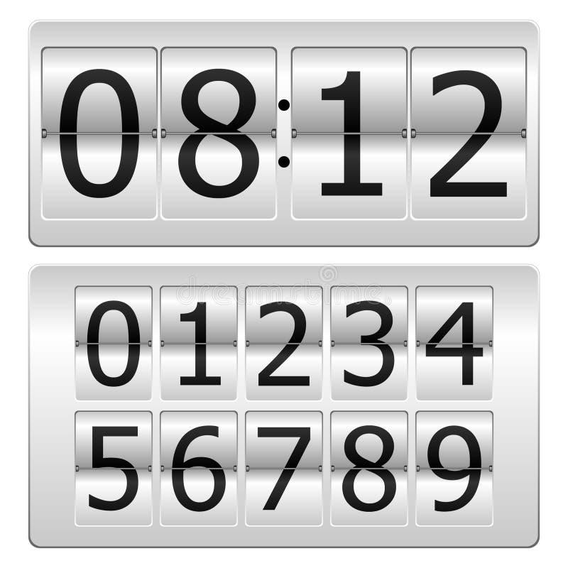 часы цифровые бесплатная иллюстрация