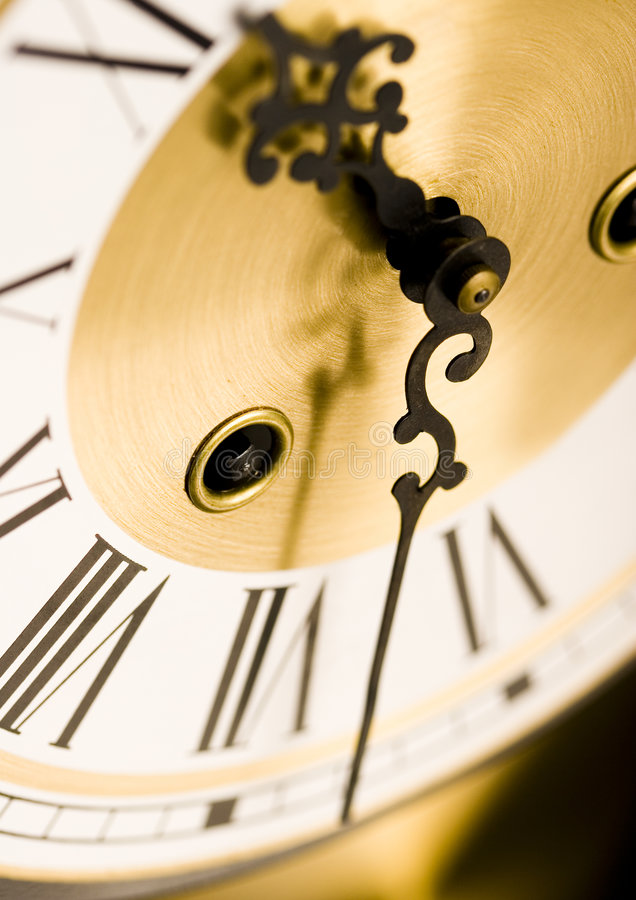 часы стоковое изображение rf