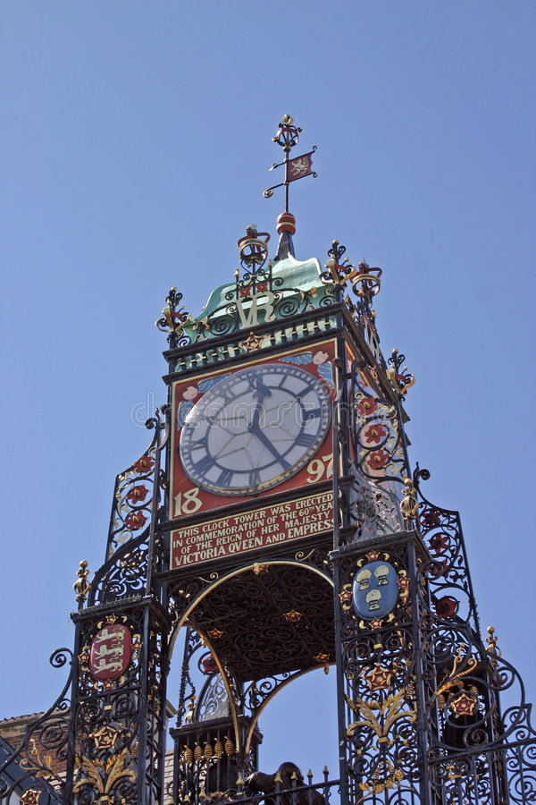часы chester стоковые фото