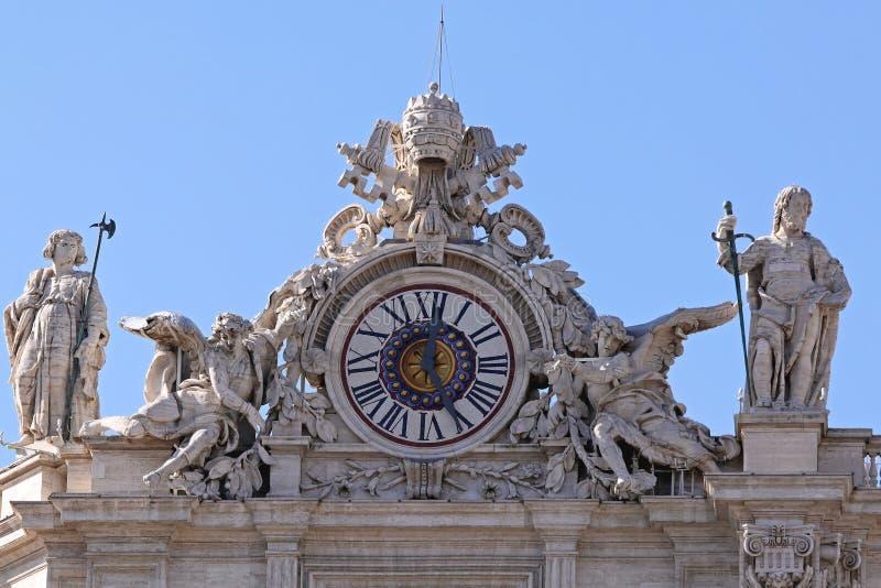 Часы St Peter стоковое изображение rf