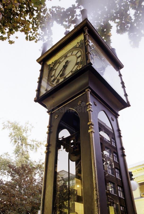 часы vancouver Канады стоковые изображения rf