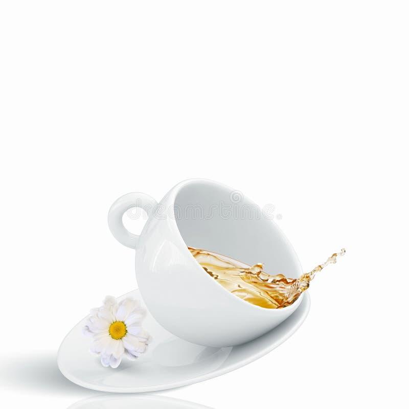 Download Чашек чаю стоковое изображение. изображение насчитывающей еда - 41650309