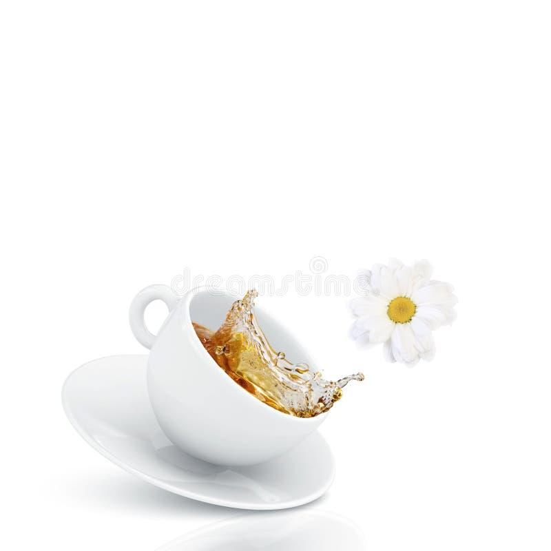 Download Чашек чаю стоковое изображение. изображение насчитывающей свеже - 41651915