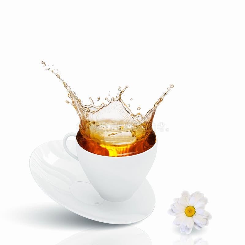 Download Чашек чаю стоковое фото. изображение насчитывающей стекло - 41652066