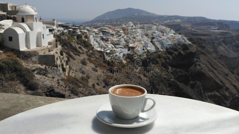 Чашка греческого кофе стоковые фото