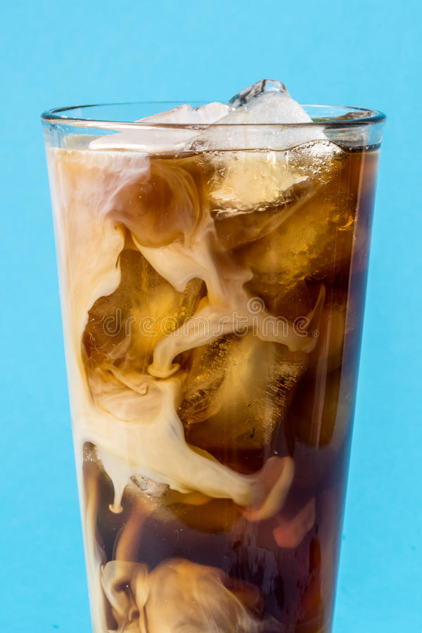 Чашка замороженного кофе стоковая фотография rf