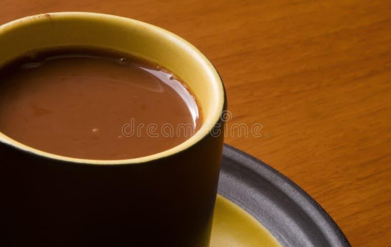чашка какао стоковое изображение rf