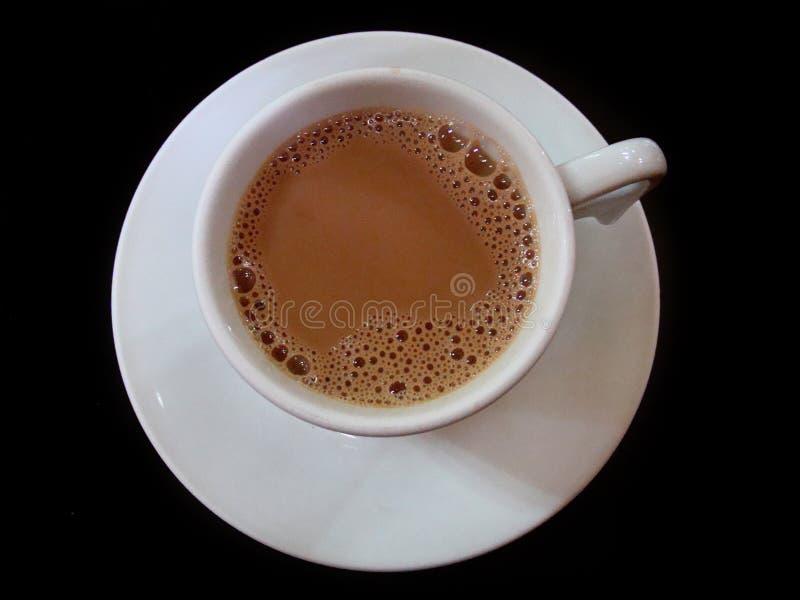 Чашка кофе молока стоковое изображение rf