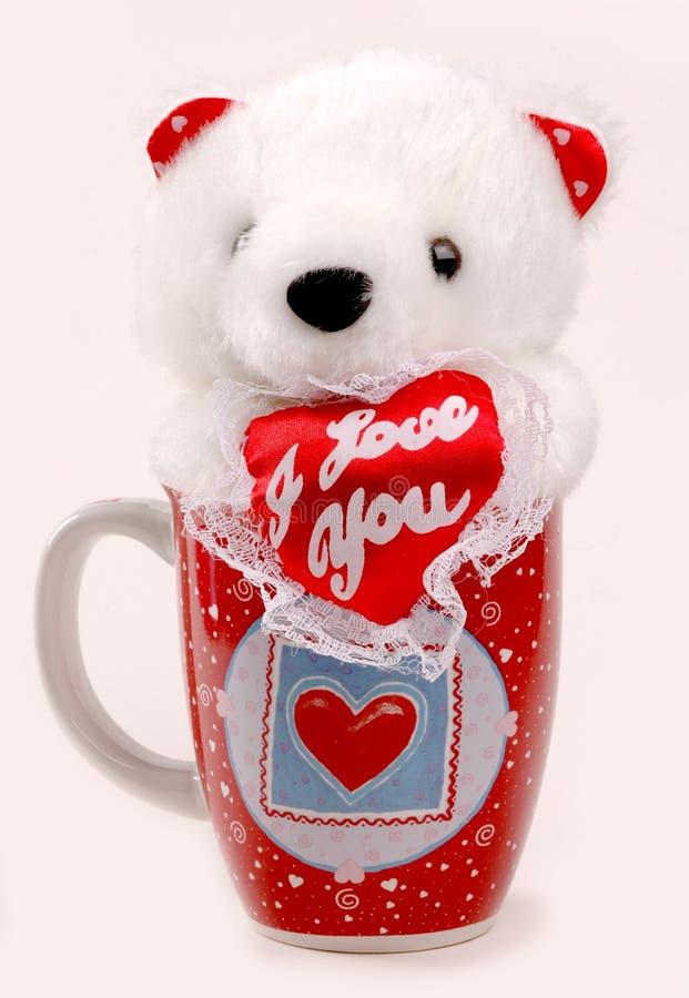 чашка медведя стоковое фото
