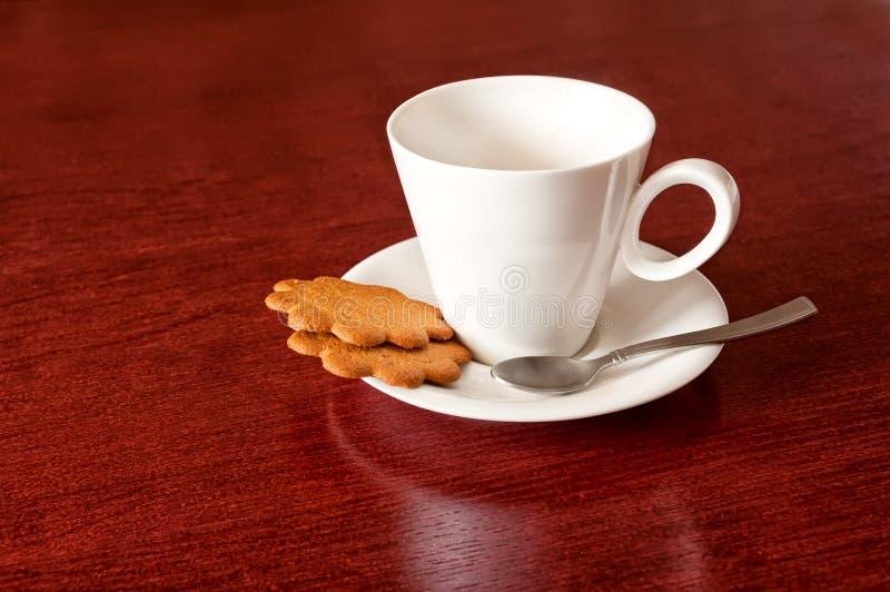 чашка печений стоковое изображение rf