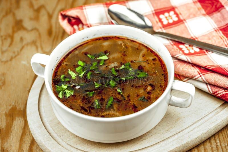 Чашка супа лука стоковые фото