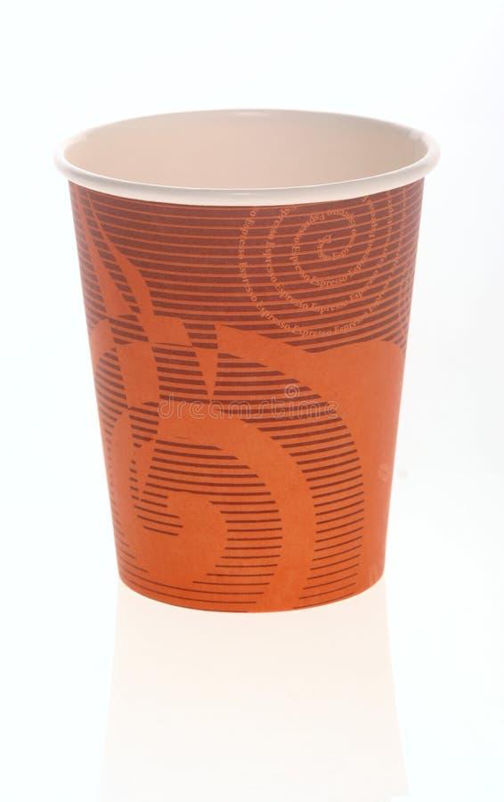 чашка с одной бумаги стоковая фотография