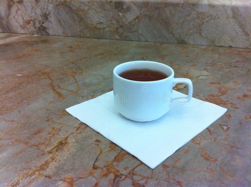 Чашка с чаем стоковые фотографии rf