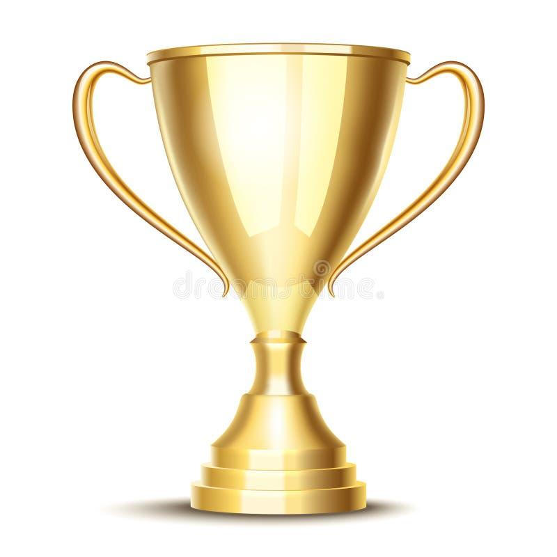 Чашка трофея победителя вектора иллюстрация штока