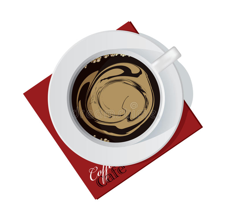 чашка coffe иллюстрация штока