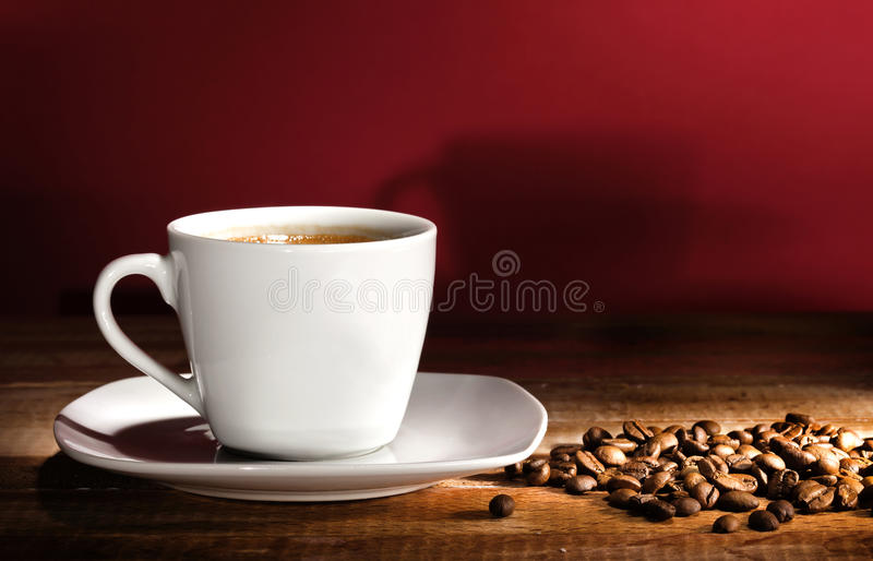 чашка coffe стоковое изображение rf