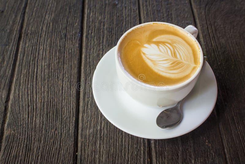 Чашка latte стоковые изображения rf