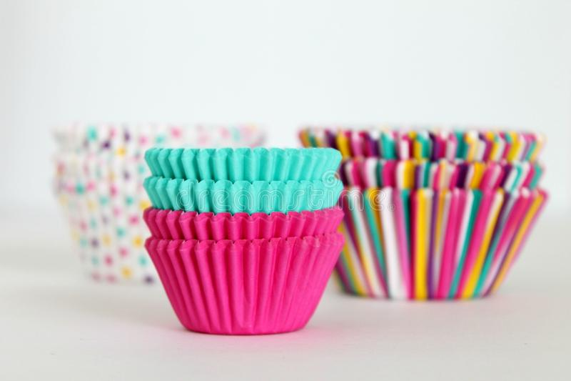 Чашки булочки стоковые фото
