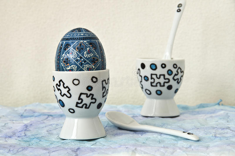 Чашки яичка стоковое фото rf