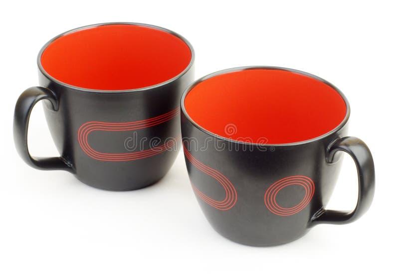 чашки 2 стоковые фотографии rf