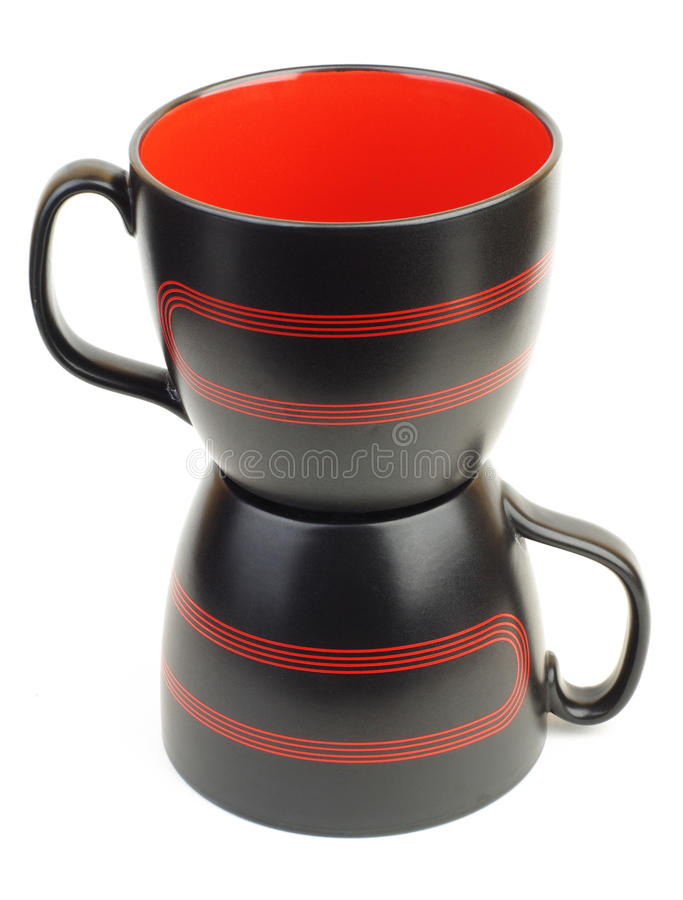 чашки 2 стоковое фото