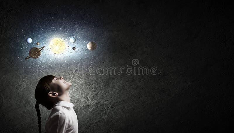 Чего вы знаете о космосе? стоковое изображение rf