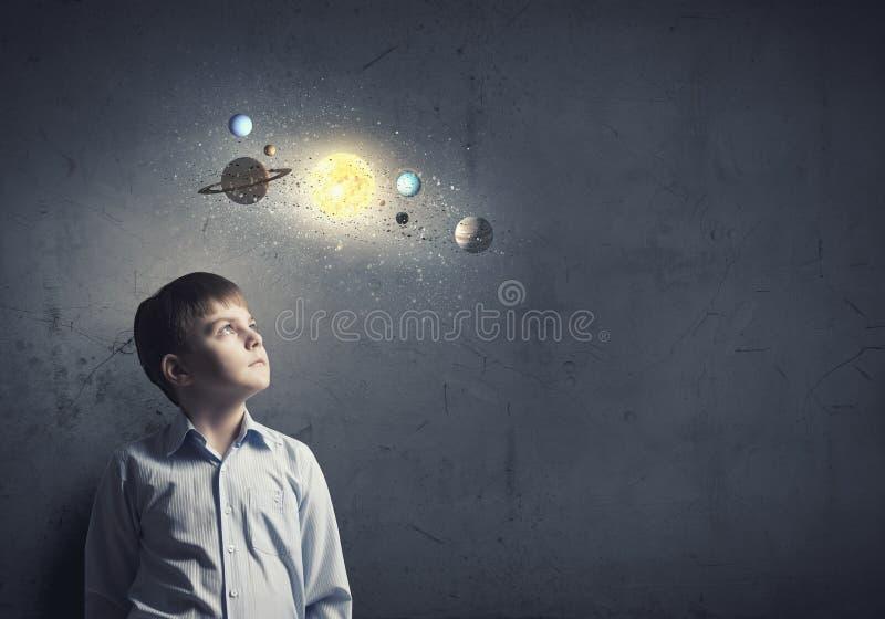Чего вы знаете о космосе? стоковое фото rf
