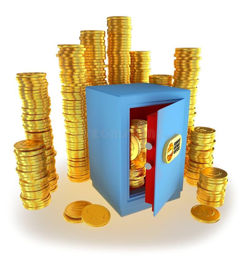 чеканит сейф дег евро бесплатная иллюстрация